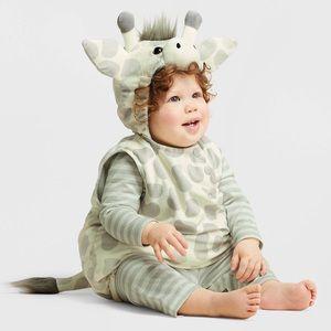 Infant giraffe plush costume